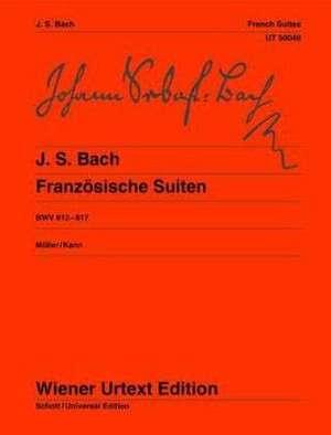 Französische Suiten de Johann Sebastian Bach