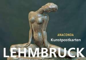 Kunstpostkartenbuch Wilhelm Lehmbruck de Wilhelm Lehmbruck