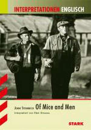Interpretationshilfe Englisch: John Steinbeck: Of mice and men