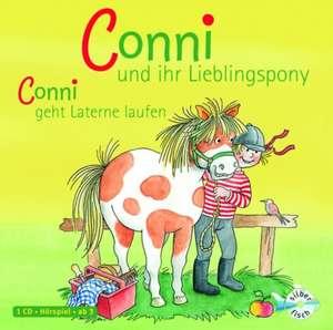 Meine Freundin Conni: Conni und ihr Lieblingspony / Conni laeuft Laterne