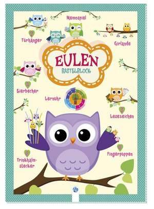 Bastelblock Eulen
