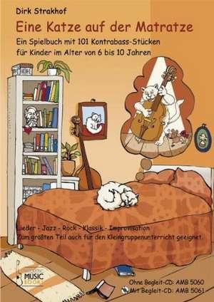 Eine Katze auf der Matratze de Dirk Strakhof