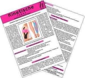 Kinetische Tapes - Medizinische Taschen-Karte