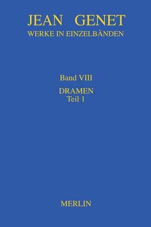 Werkausgabe, Band VIII