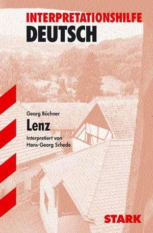 Lenz. Interpretationshilfe Deutsch