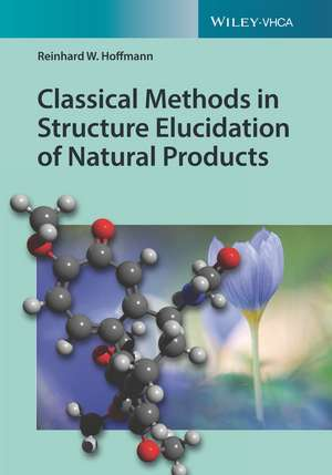 Classical Methods in Structure Elucidation of Natural Products