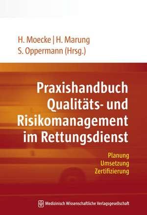 Praxishandbuch Qualitaets- und Risikomanagement im Rettungsdienst