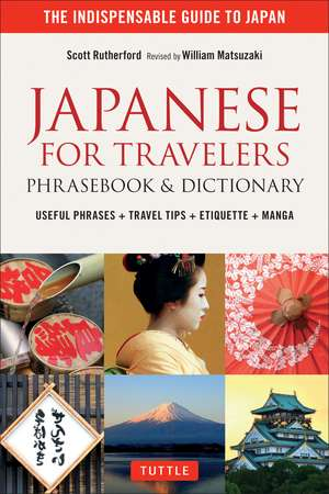 Japanese for Travelers Phrasebook & Dictionary imagine