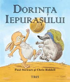 Dorinţa iepuraşului (pentru copii între 4 şi 10 ani) de Bill Stewart