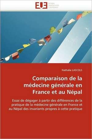 Comparaison de La Medecine Generale En France Et Au Nepal