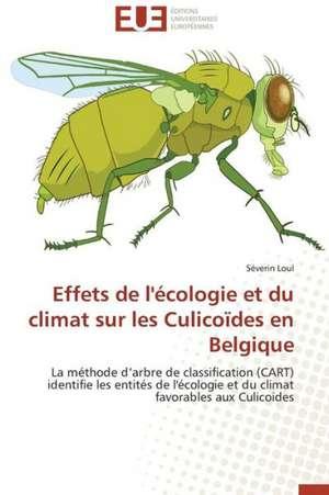 Effets de L'Ecologie Et Du Climat Sur Les Culicoides En Belgique