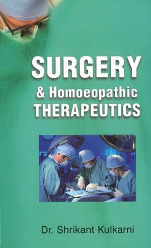Surgery & Homoeopathic Therapeutics imagine