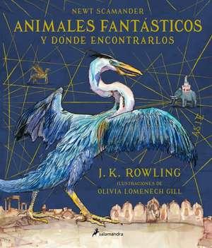 Animales Fantasticos y Donde Encontrarlos de Newt Scamander