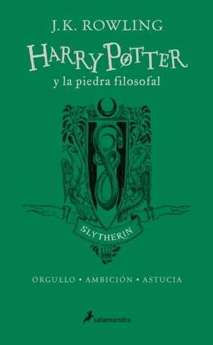 Harry Potter y la Piedra Filosofal. Casa Slytherin de J. K. Rowling