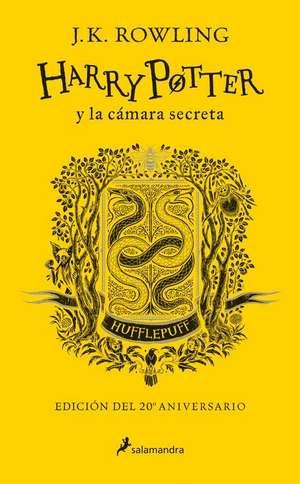 Harry Potter Y La Camara Secreta. Casa Hufflepuf de J. K. Rowling