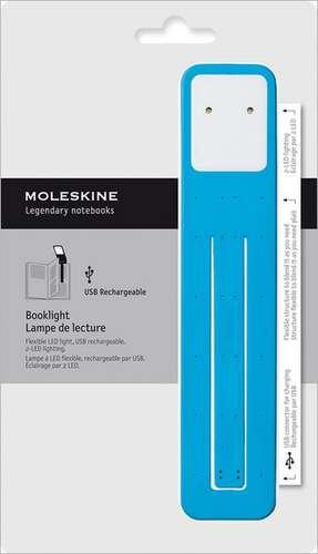 Moleskine Booklight Cerulean Blue de Moleskine