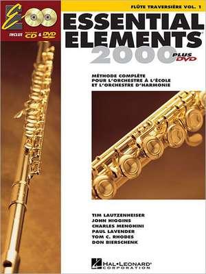 Essential Elements Ee2000 Flute de Hal Leonard Corp