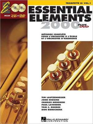 Essential Elements Ee2000 Trumpet: French Edition de Hal Leonard Corp