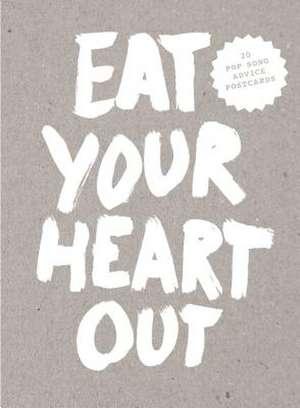 Eat Your Heart Out Postcard Block de Marcus Kraft