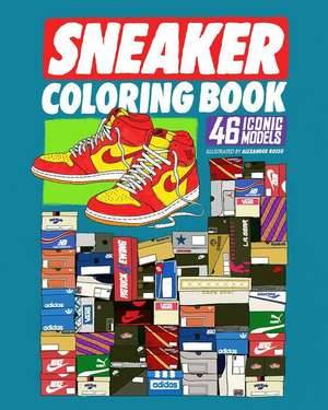 Sneaker Coloring Book imagine