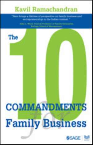 The 10 Commandments for Family Business