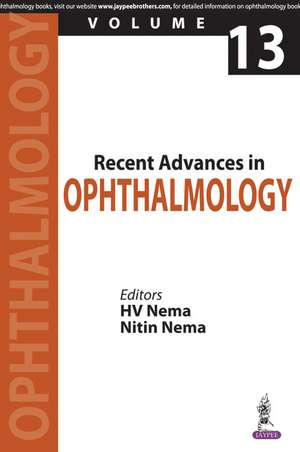 Recent Advances in Ophthalmology - 13