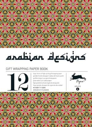 Arabian Gift Wrapping Paper Book, Volume 6:  Gift Wrapping Paper Book Vol 5 de Pepin van Roojen