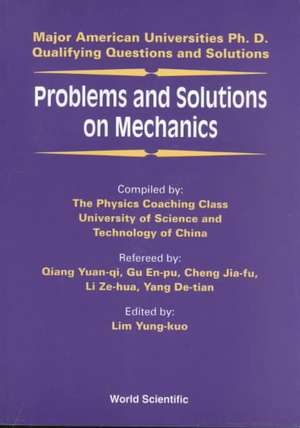 Problems and Solutions on Mechanics imagine