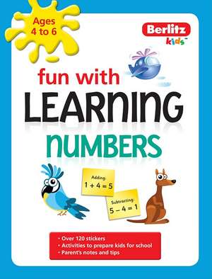 Berlitz Language: Fun with Learning: Numbers (4-6 Years)