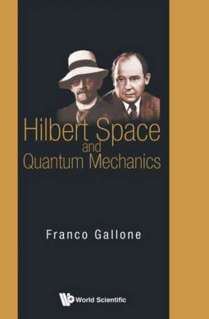 Hilbert Space and Quantum Mechanics