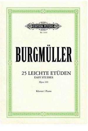 25 leichte Etüden op. 100 de Friedrich Burgmüller