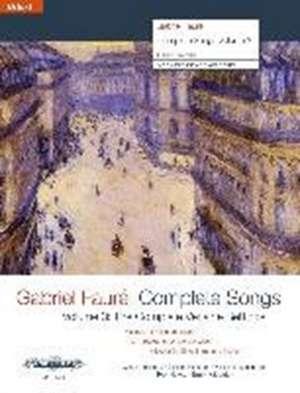 COMPLETE SONGS VOL 3 de GABRIEL FAUR
