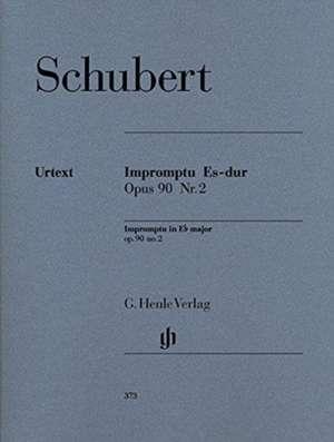 Impromptu Es-dur op. 90,2 D 899 de Franz Schubert