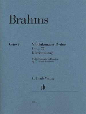 Violinkonzert D-dur op. 77 de Johannes Brahms