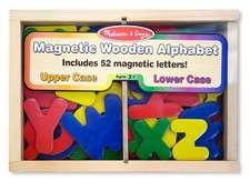 Magnetic Wooden Alphabet