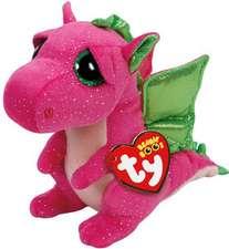 Darla, Drache pink 15cm: Jucărie dragon roz, pluș