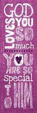 God Loves You Kids Bookmark