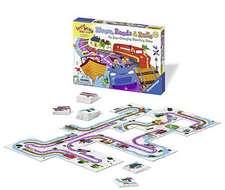 Rivers, Roads & Rails Game:  Permanent