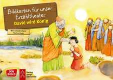 David wird König. Kamishibai Bildkartenset