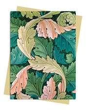 William Morris: Acanthus Greeting Card