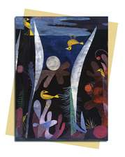 Paul Klee: Landscape Yellow Birds Greeting Card