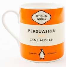 Cană  - Persuasion - Jane Austen. Orange