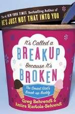 It's Called a Break-up Because It's Broken