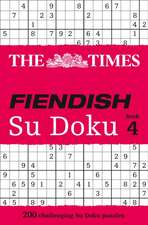 The Times Fiendish Su Doku, Book 4:  A Chef's Stories and Recipes from the Land