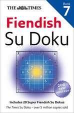 The Times:  Fiendish Su Doku, Book 7