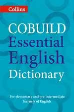 COBUILD ESSENTIAL ENGLISH DICT