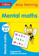 Collins Easy Learning Age 5-7 -- Mental Maths Ages 5-7:  New Edition