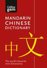 Collins Gem - Collins Gem Mandarin Chinese Dictionary:  Pocket Edition