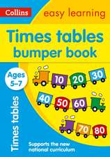 Collins Easy Learning Ks1 - Times Tables Bumper Book Ages 5-7:  Handwriting Bumper Book Ages 5-7