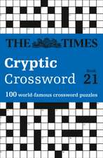 Times Cryptic Crossword Book 21